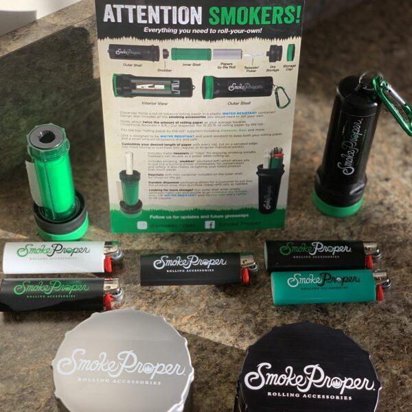Smoke Proper grinder with rolling kit