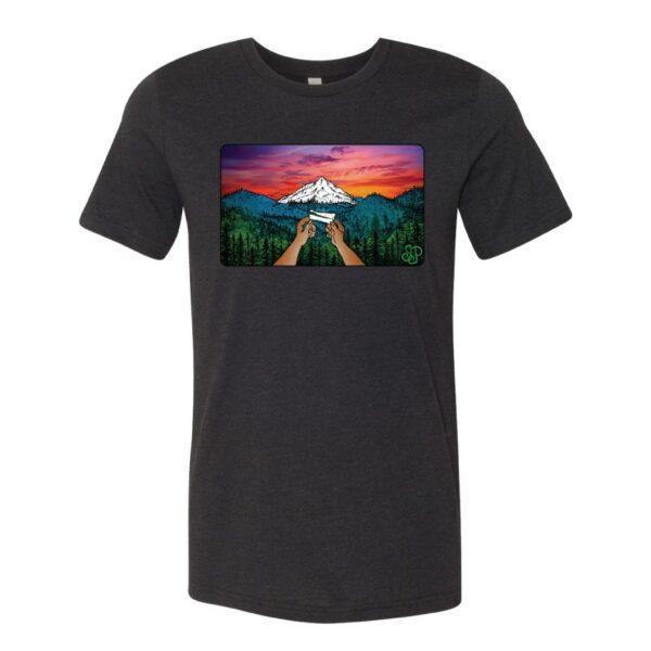 Black –Smoke Proper T-shirt